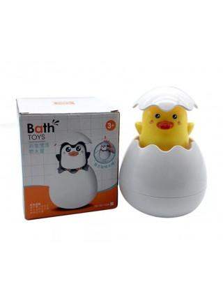 Игрушка для купания утенок в яйце