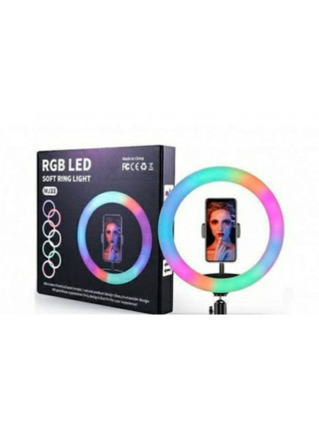 Кольцевая лампа RGB LED MJ33